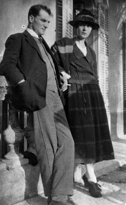 Katherine Mansfield and John Middleton Murry in 1921