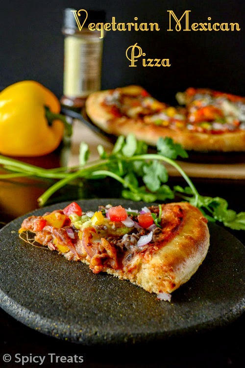 Vegetarian Mexican Pizza Recipe