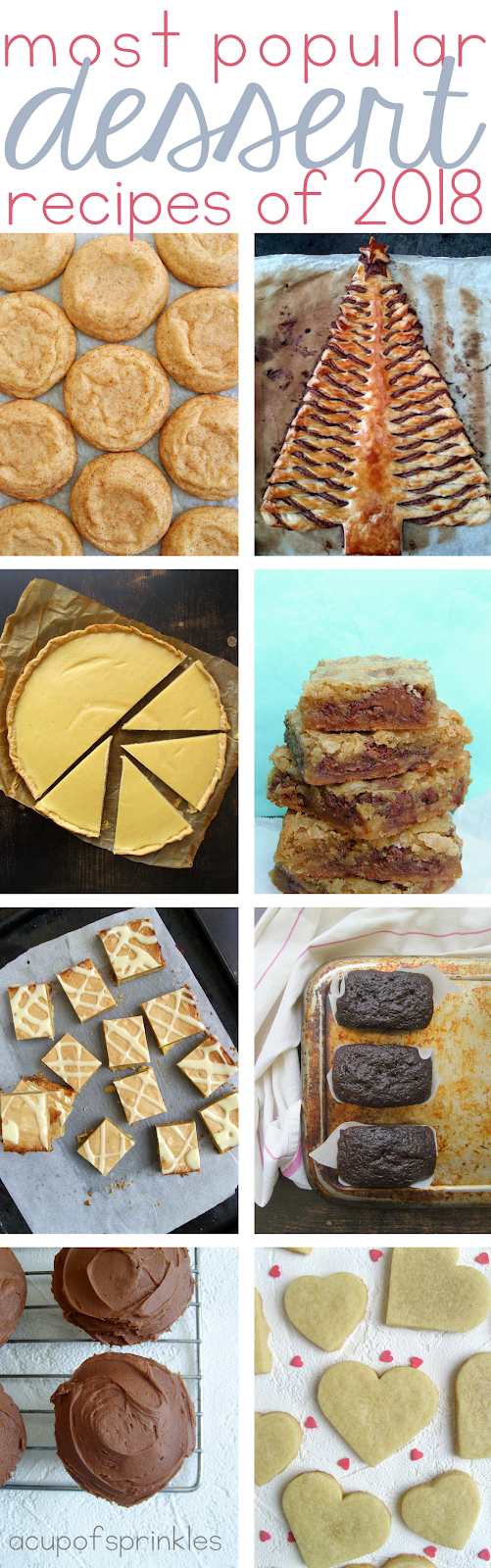 popular dessert recipes