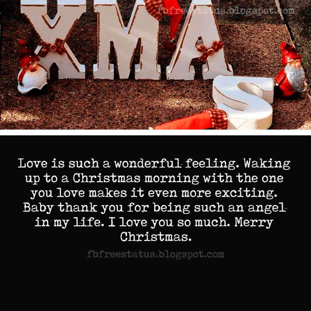 Merry Christmas to My Love Quotes, Greeting, Messages