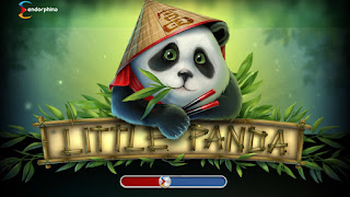 Little Panda slot game loading screen