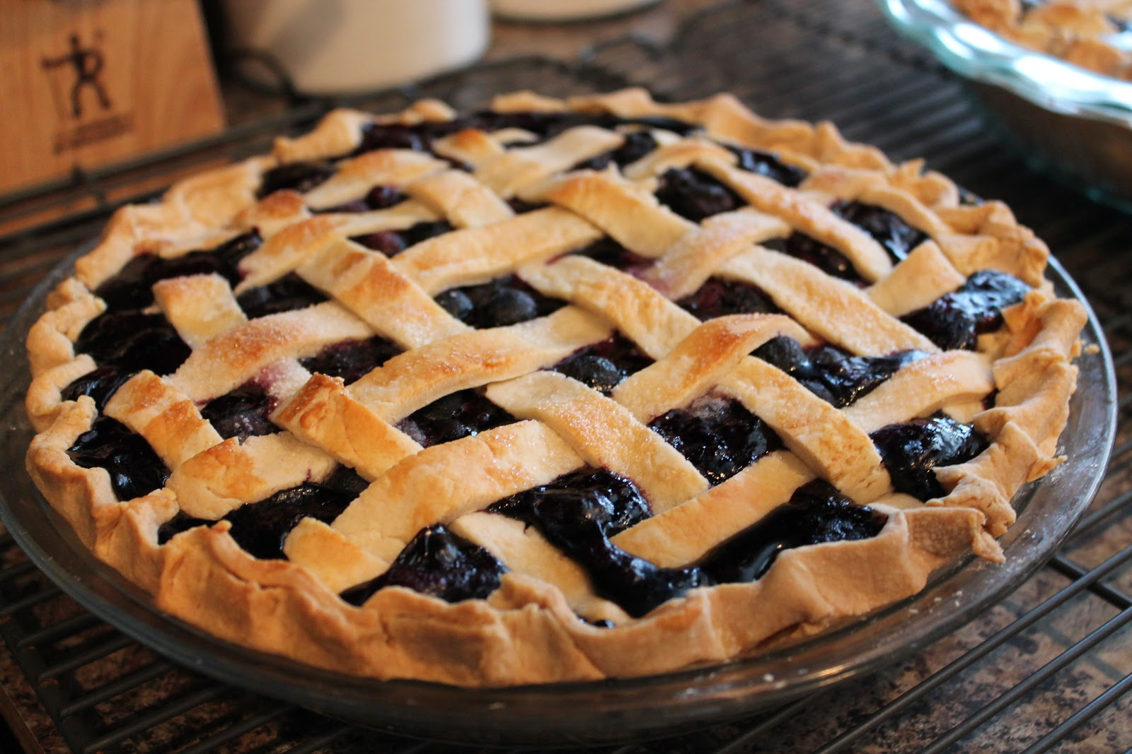 Typisch Amerikanische Kuchen Blueberry Pie Recipe Dishmaps