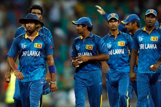 Sri Lanka's National cricketers