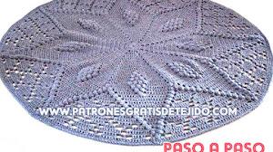 Aprende a tejer una alfombra a crochet / Paso a paso