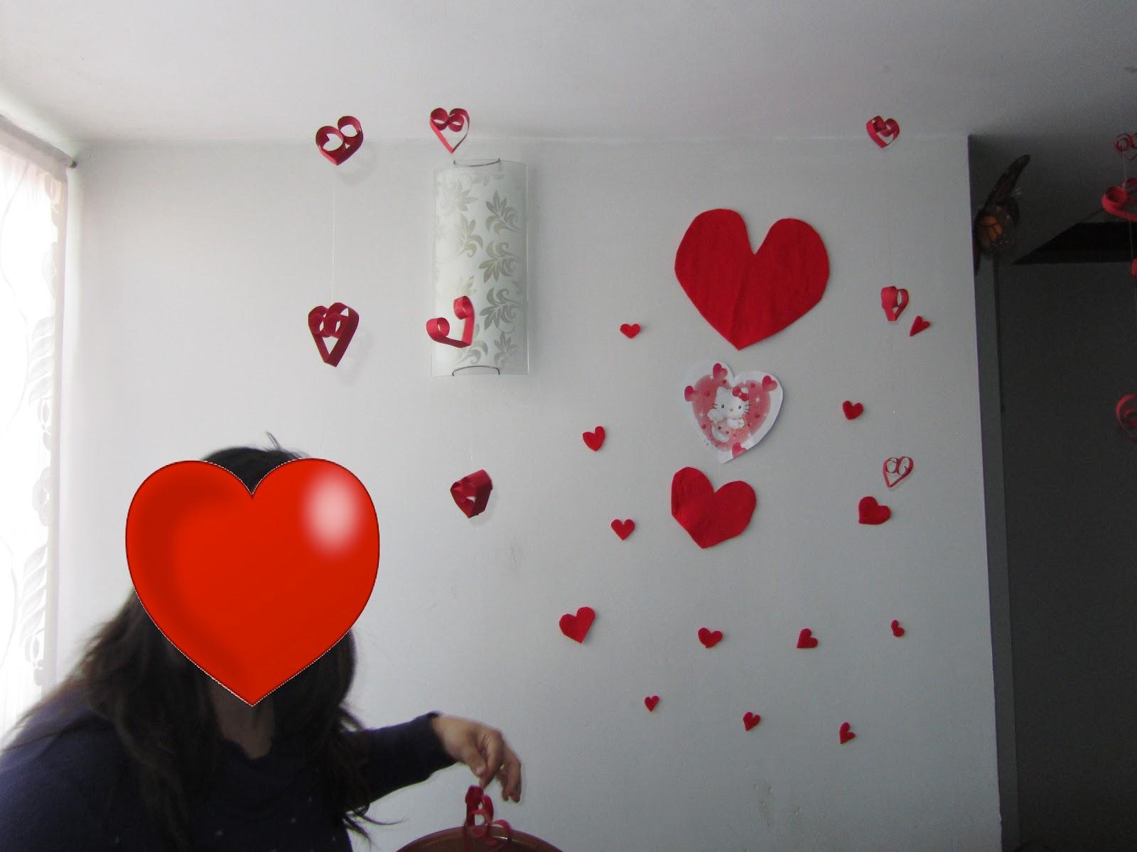 La Decoracion De Sol Para San Valentin Somosdeco Blog De Decoracion - Decoracion-san-valentin-manualidades
