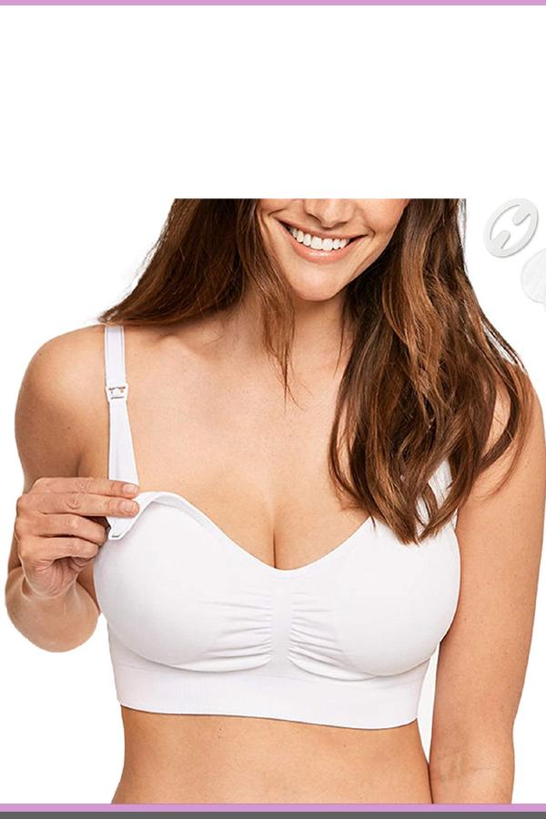 c7cef763af3cb bamboo seamless nursing bra for large breasts