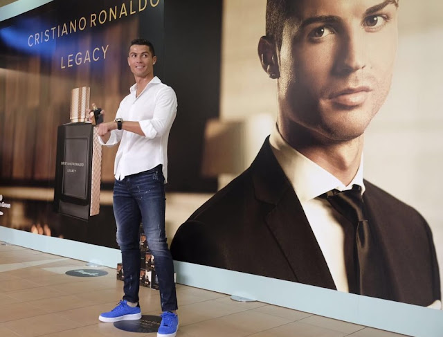 Ronaldo launches new fragrance as he prepares for Real Madrid return (VIDEO)