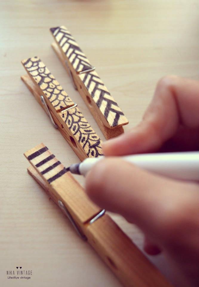 diy, pinza, madera, portaretratos, portafotos, portafotos, pinzas madera, peter pan, hazlo tu mismo, handmade