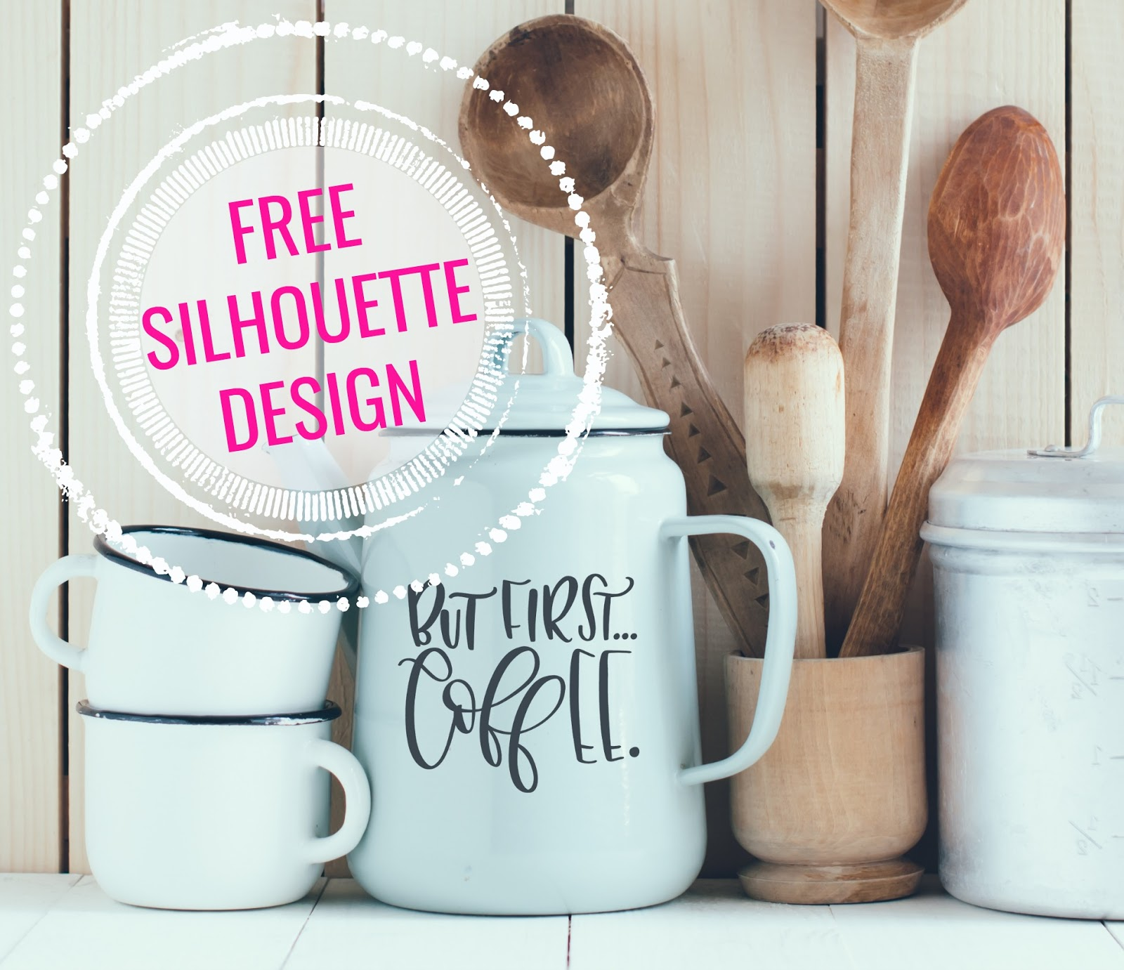 But First Coffee Free Silhouette Design Silhouette School