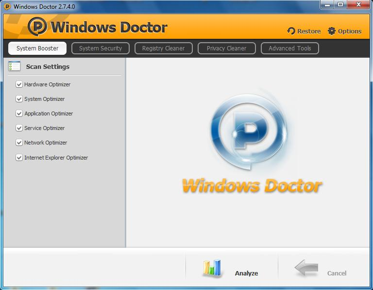 Free doctor for your PC!