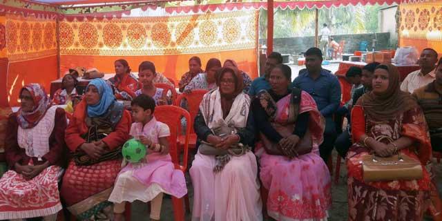 Ansar and VDP held at Rangpur Anandnagar