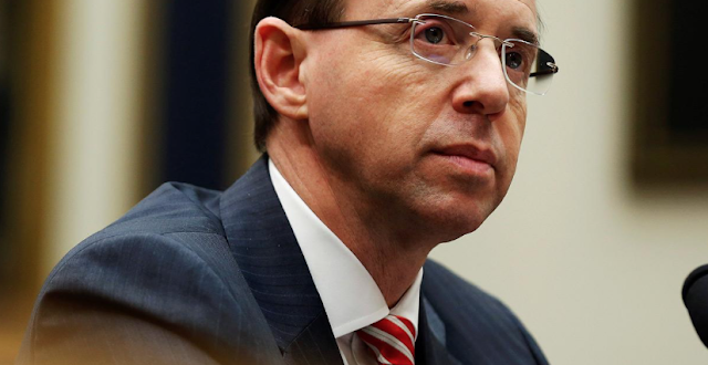 Rod Rosenstein Is Shirking His Duty to Supervise Robert Mueller