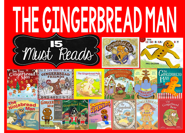Gingerbread Man, Gingerbread Boy, Gingerbread Girl,  Gingerbread Cowboy, Gingerbread Pirate, Gingerbread Bear, Ninjabread Man, and morea All Gingerbread themed stories