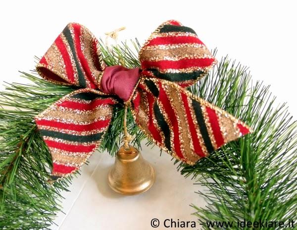Ghirlanda natalizia fai da te facile