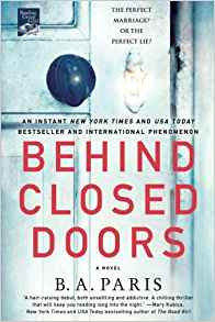 Book Review: Behind Closed Doors, by B. A. Paris