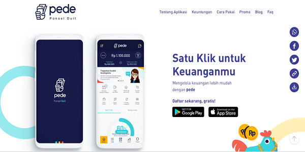 Aplikasi Pede Android