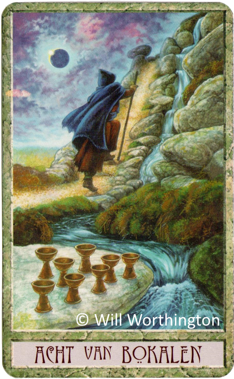 Druidcraft Eight of Cups Will Worthington