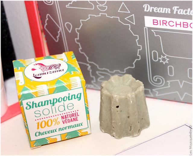 Birchbox Dream Factory mai 2016 - Box beauté Lamazuna shampoing solide - Blog Les Mousquetettes©