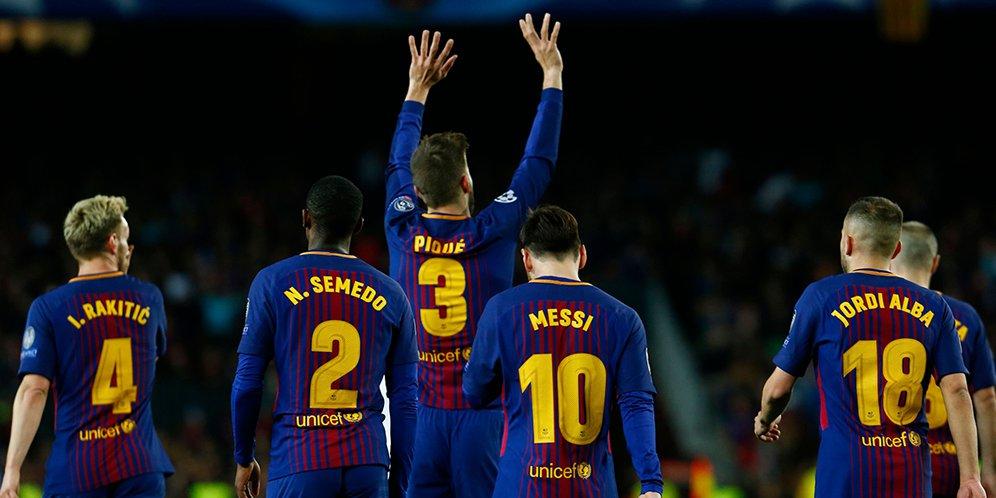Barcelona roma match score