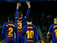 Match Result Barcelona vs AS Roma: Score 4-1