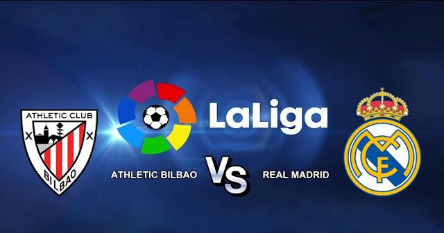 Athletic Bilbao vs Real Madrid 3 Desember 2017