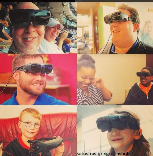 Ηλεκτρονικά γυαλιά για ΑΜΕΑ eSight 3