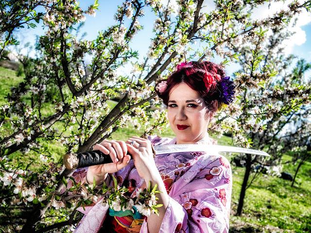 Almendros y Kimonos (spring is comming)