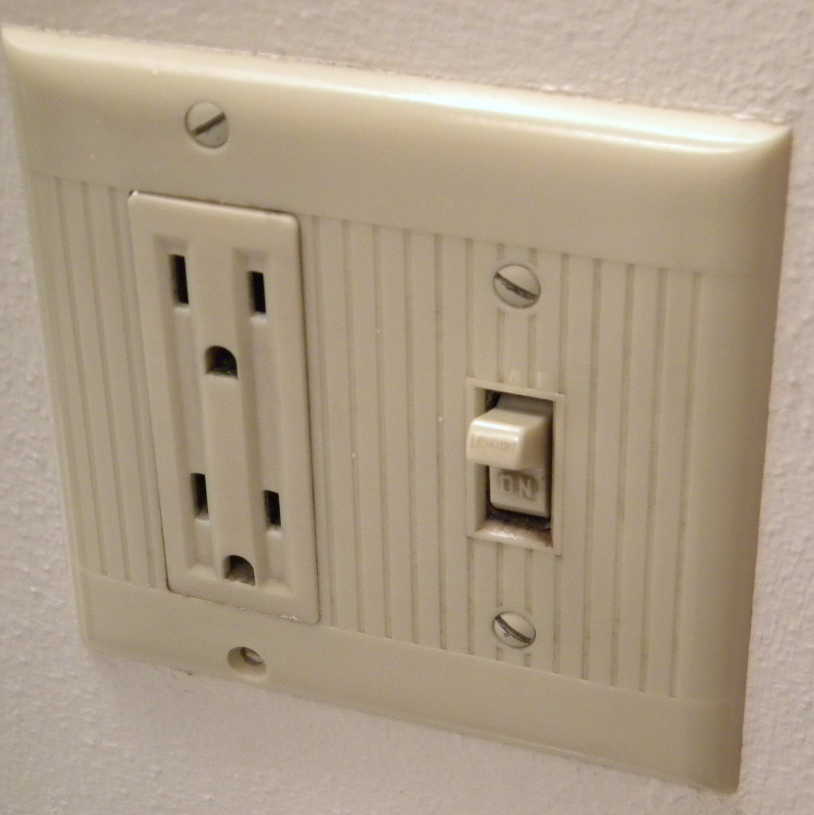 Does Anyone Have An Outlet Or Light Switch Cover That Looks Something Like This