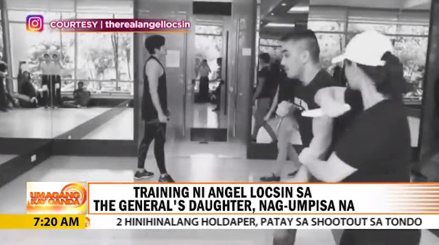 Angel Locsin's Intense Training For The General's Daughter