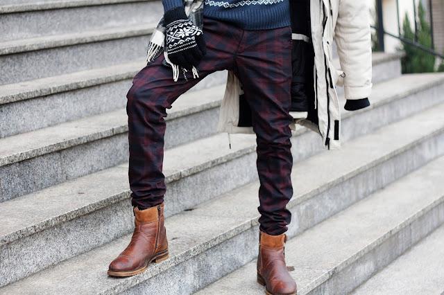 zimowa moda męska