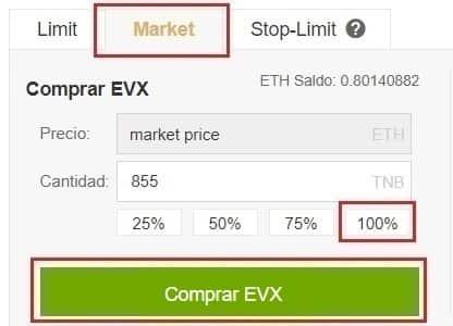Comprar y Monedero Everex (EVX) Tutorial Español