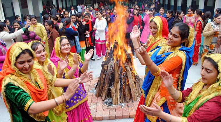 Lohri - Makar Sankranti  Celebration