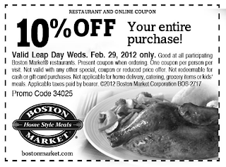 Free Leap year food coupons