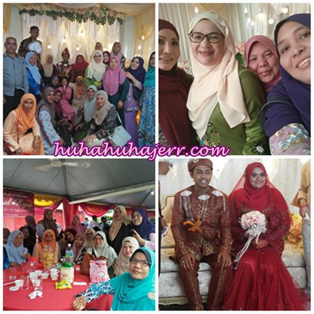 Bersama Kawan-kawan Di Majlis Perkahwinan Akmal Dan Eyra