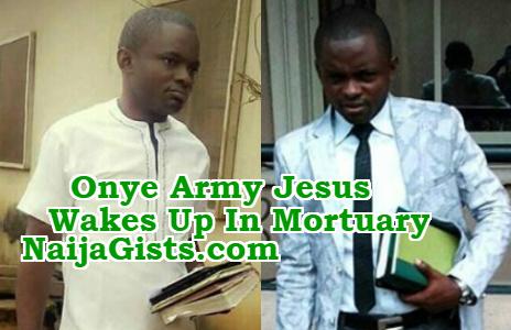 nigerian pastor wakes mortuary fmc umuahia abia