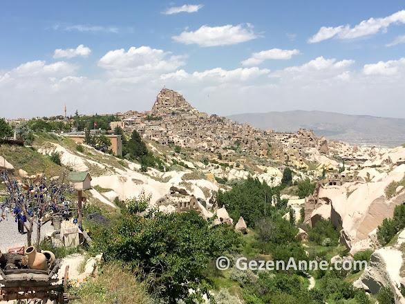 Güvercinlik vadisi ve Uçhisar Kalesi, Kapadokya