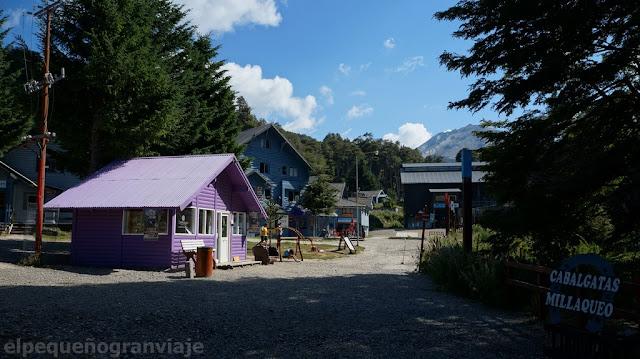Casas, complejo de esqui cerro bayo