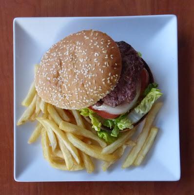 Cenar hamburguesa en Soto del Real