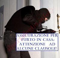 polizza contro il furto in casa