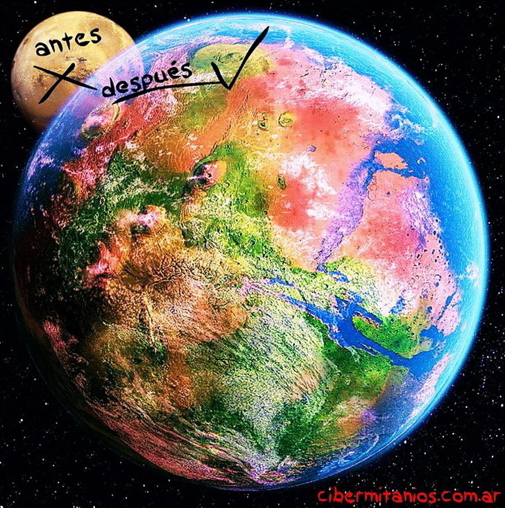Terraformación marciana