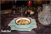 Ravioles au foie gras, aux truffes, sauce Porto.