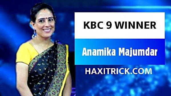 KBC Season 9 Winner Anamika Majumdar 2017