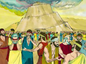 tour de Babel sur Free Bible images