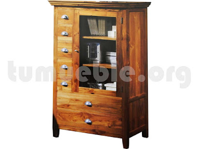 mueble auxiliar en teca 4043
