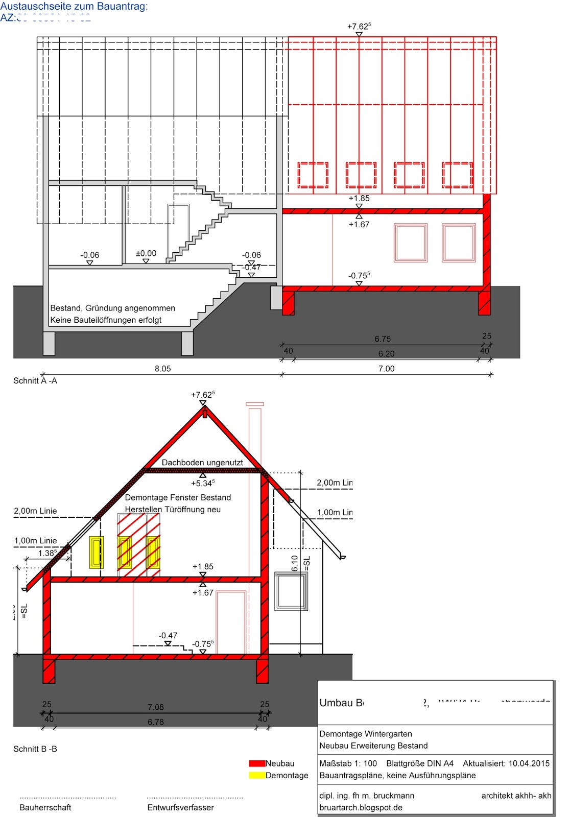architektur kreativit t kunst bauantrag abbruch. Black Bedroom Furniture Sets. Home Design Ideas