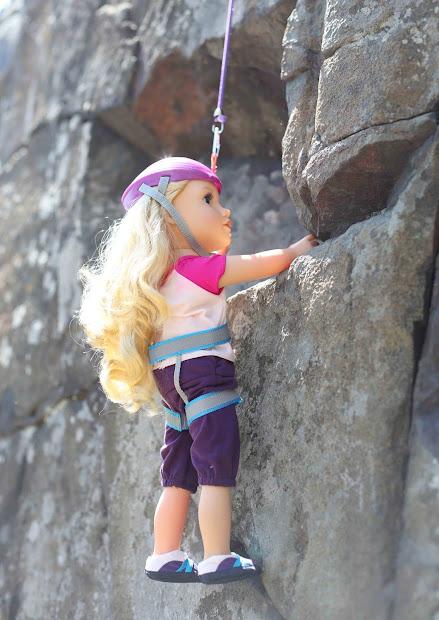 Girl Rock Climbing Shirt