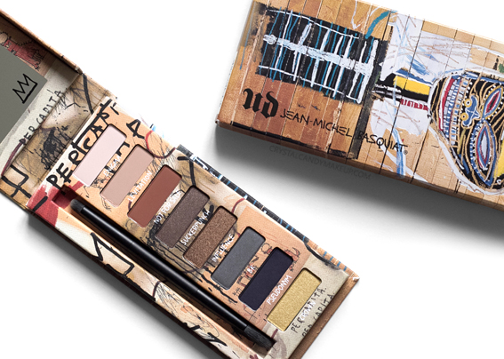 UD Jean-Michel Basquiat Collection Urban Decay Review Gold Griot Eyeshadow Palette