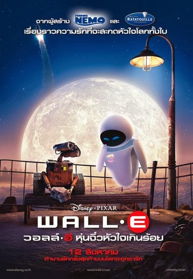 ดูการ์ตูน WALL-E  หุ่นจิ๋วหัวใจเกินร้อย