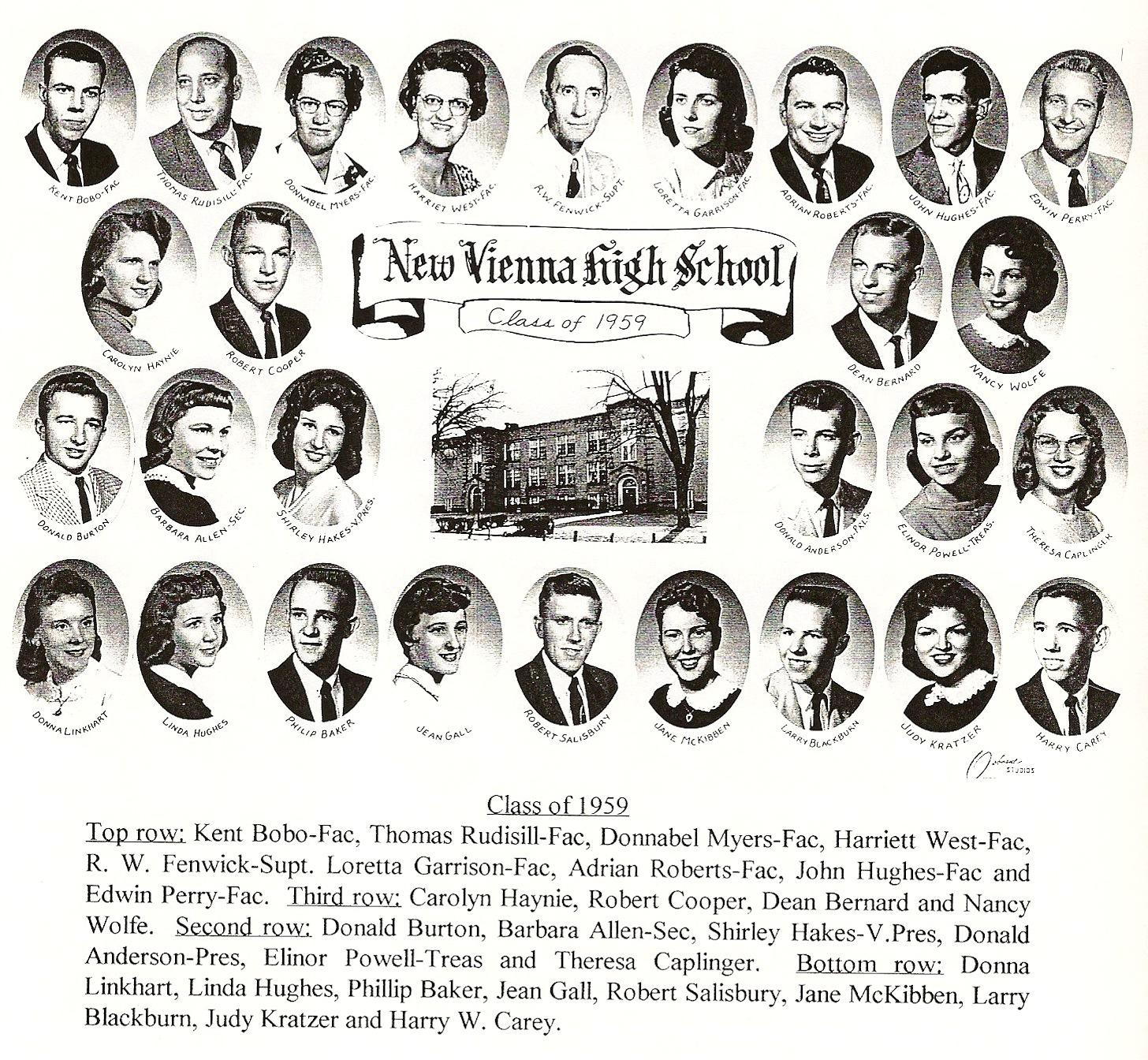 New Vienna Ohio Memories May