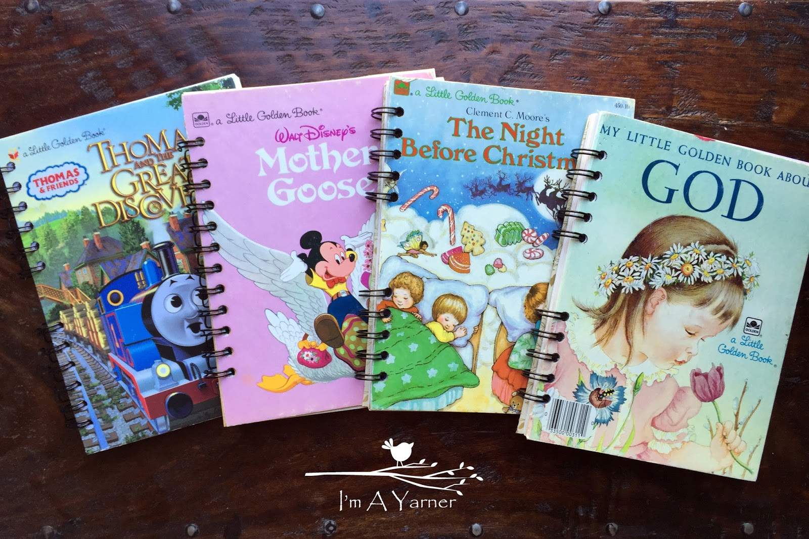 I M A Yarner Little Golden Book Journals